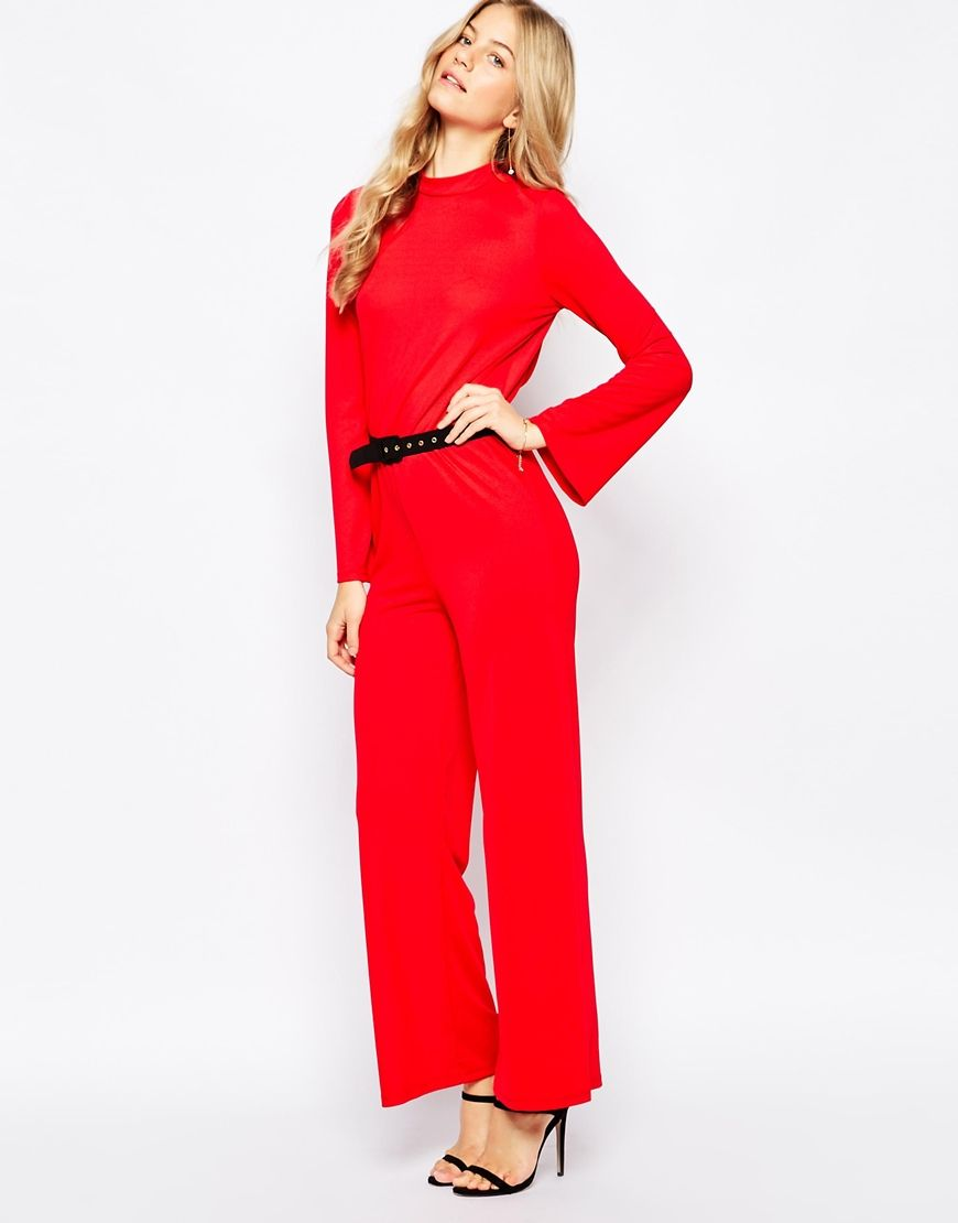 efb47652e1bb Jumpsuits for Women. Vero Moda High Neck Jumpsuit with Open Back