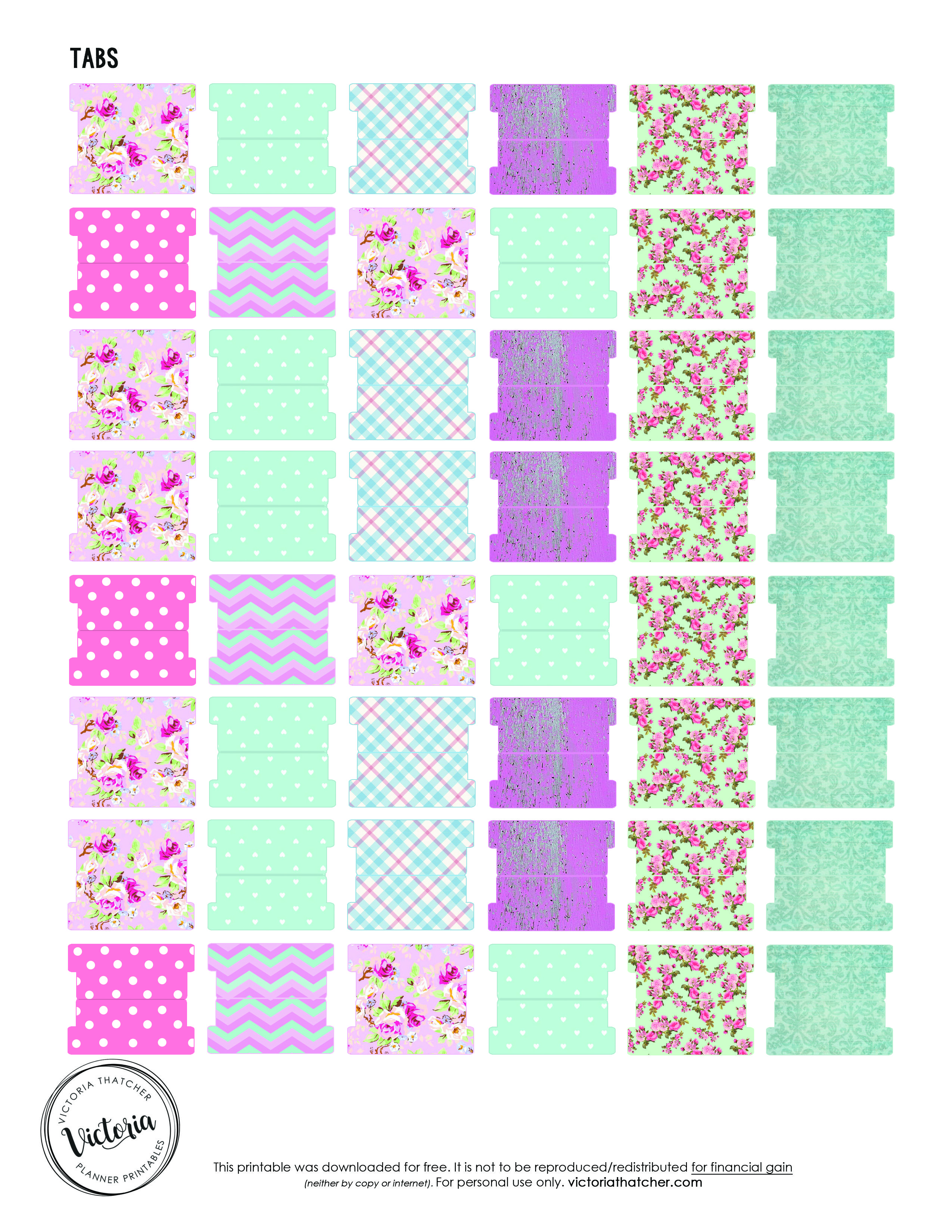 It's just an image of Crush Divider Tabs Printable