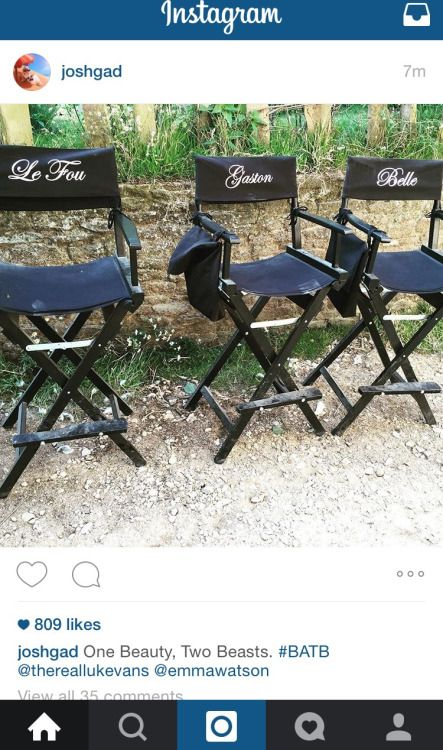 Disneybeautyandthebeast New Post From Josh Gad The Set Of Beauty And Beast