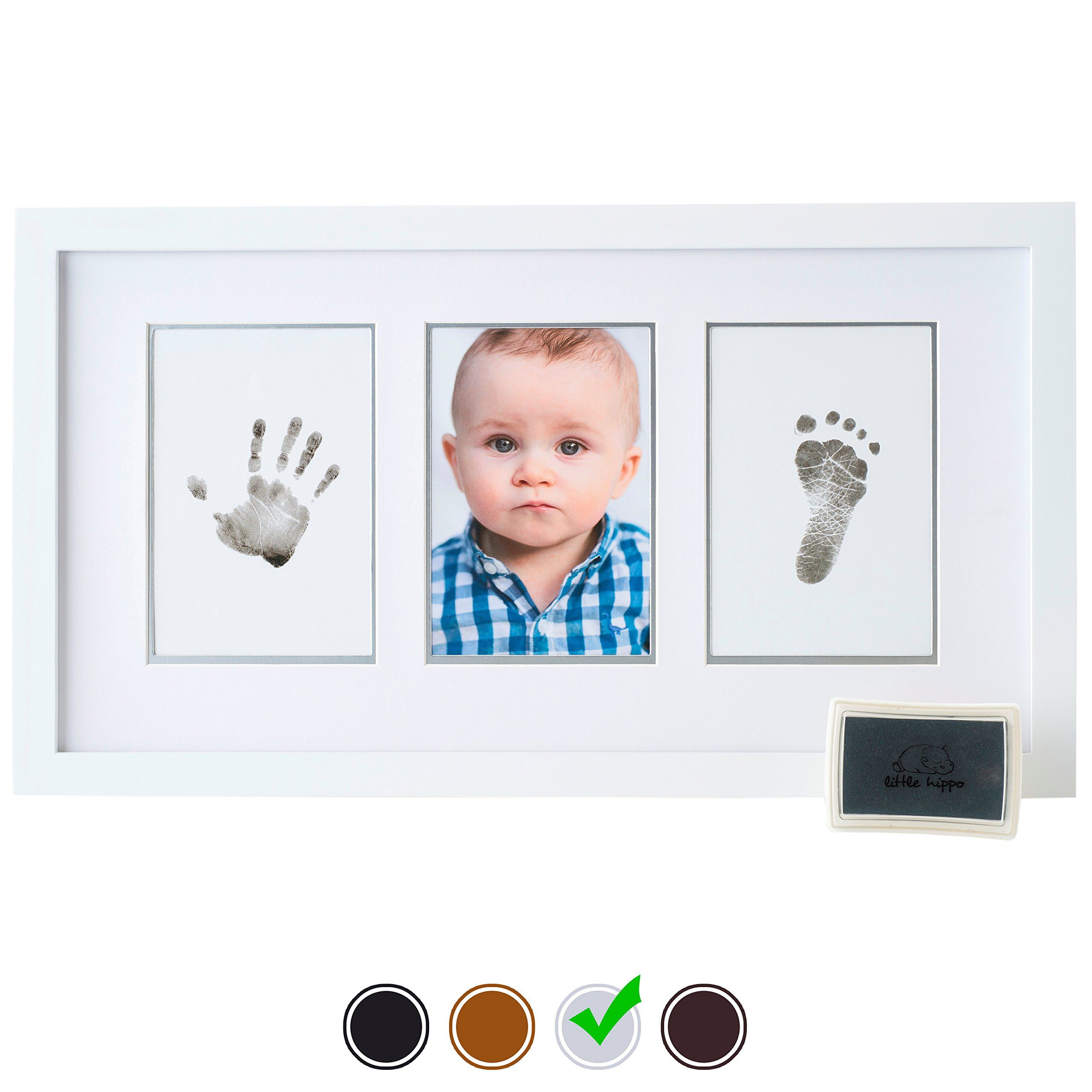 Baby Handprint Kit by Little Hippo - DELUXE EDITION! Newborn Baby ...