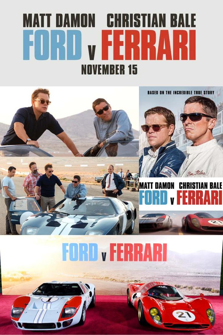 Ford V Ferrari Got Its World Premiere From The Telluride Film