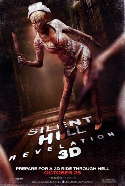 Silent Hill Revelation 3d Nurse Poster Silent Hill Revelation