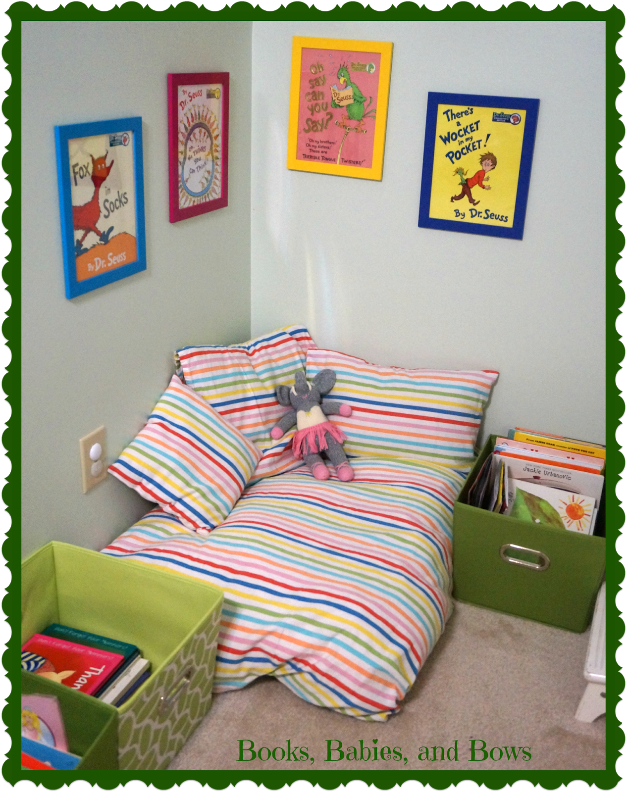 Reading Nook Floor Pillows Creating A Space To Read Book Nook For Toddlers Made From