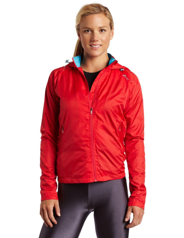 Asics reflector jacket. $90 @ asics.com for stores. Wind-resistant ...