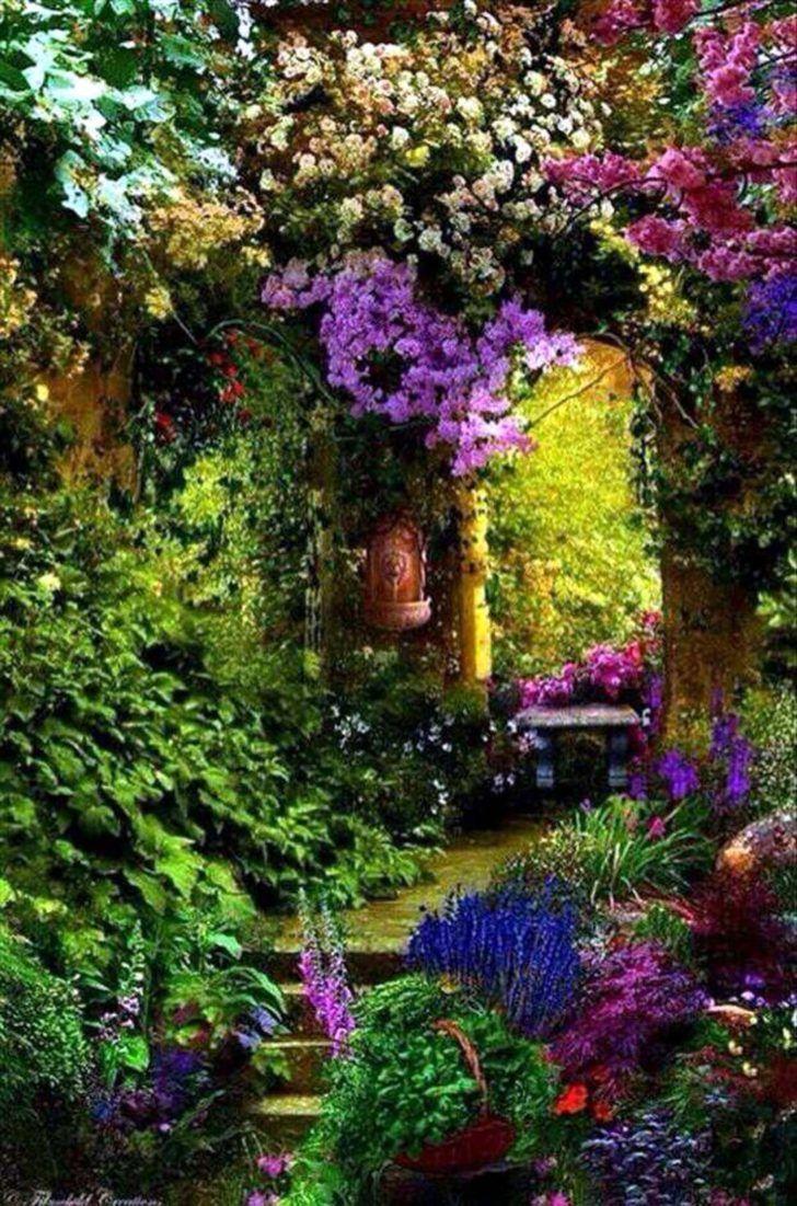 12 Shabby Chic & Bohemian Garden Ideas | Garden ideas, Gardens and ...