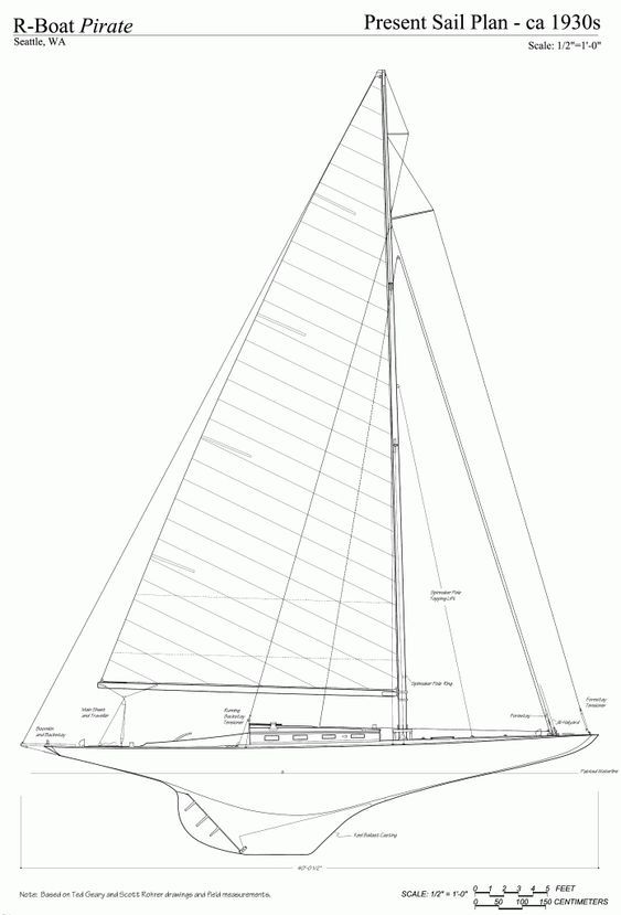 free ship plans r boat pirate racing sailboat yacht model