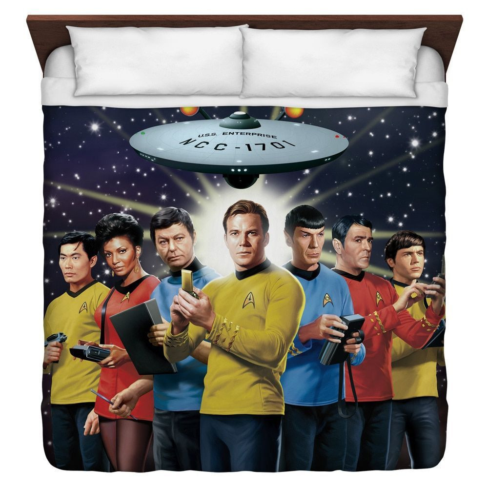Star Trek/Original Crew Duvet Cover