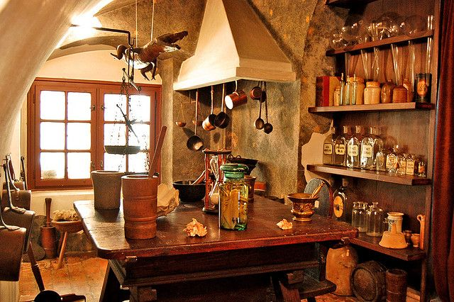 Alchemy:  An Alchemist's Workshop, Varheghy, Budapest, Hungary.