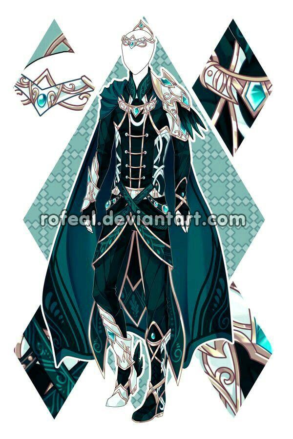 fancy elf clothes like for a prince background for fcs
