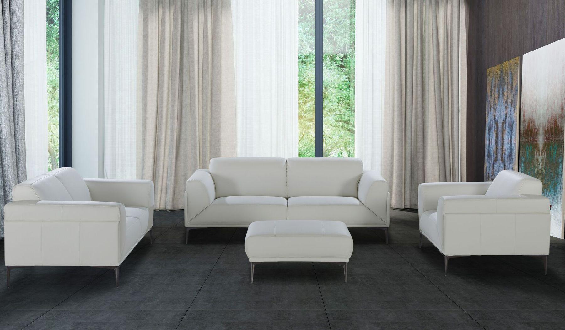 Davos Sofa Living Room Leather Leather Living Room Set White Sofa Set