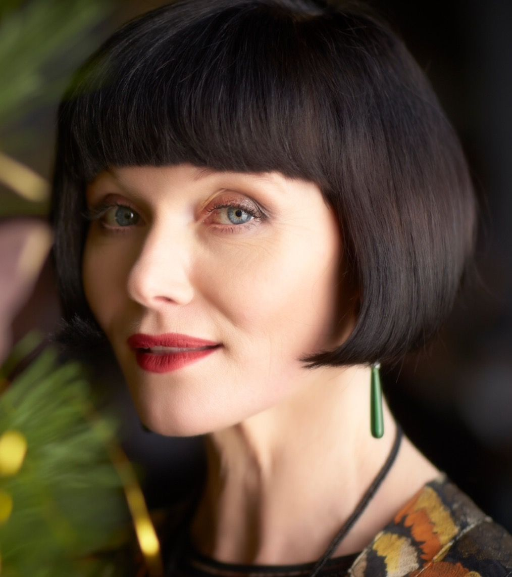 miss fisher haircut pin on miss fisher
