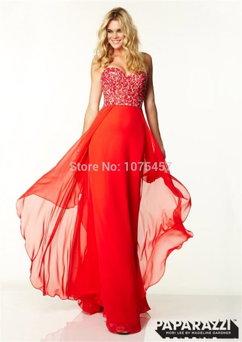Click to buy ucuc latest design sexy backless prom dress