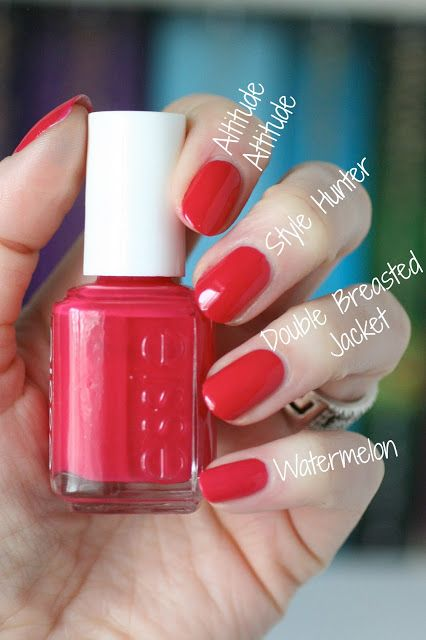 Essie Spring 2014 Hide & Go Chic Collection : Swatches & Comparisons | Essie Env…