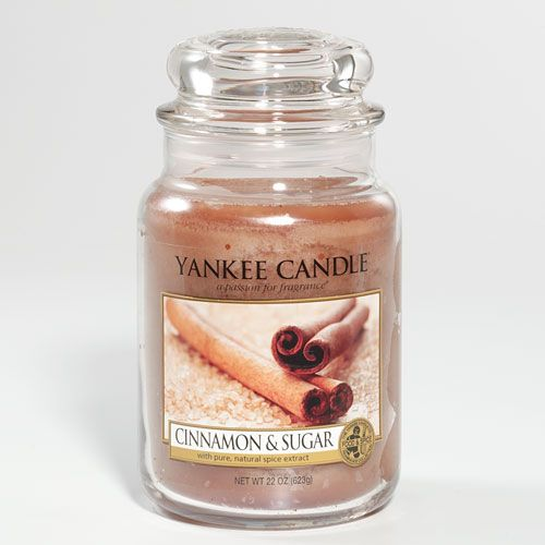 Yankee Candle Cinnamon Sugar A Warm Sweet Sprinkle Of Heaven