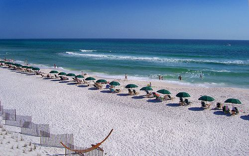 Watercolor Florida Crystal Clear Waters Perfect Vacation