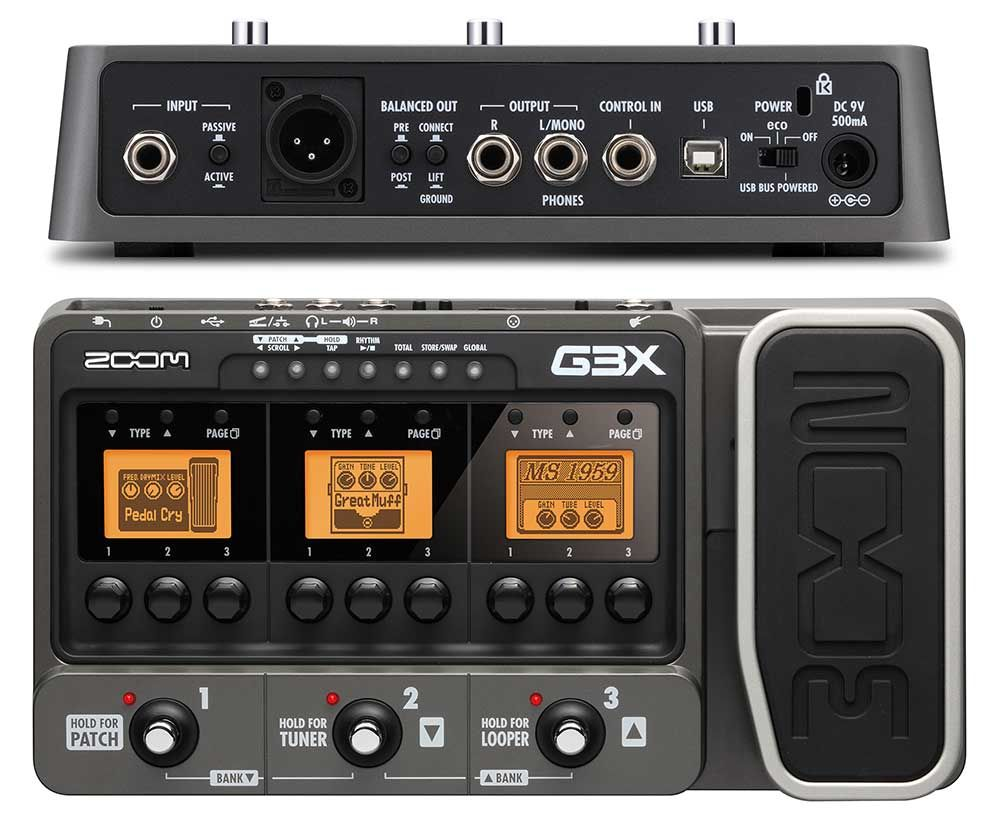 Zoom G3x Review Guitar Multi Effects Pedal Effects Pedals Pedal