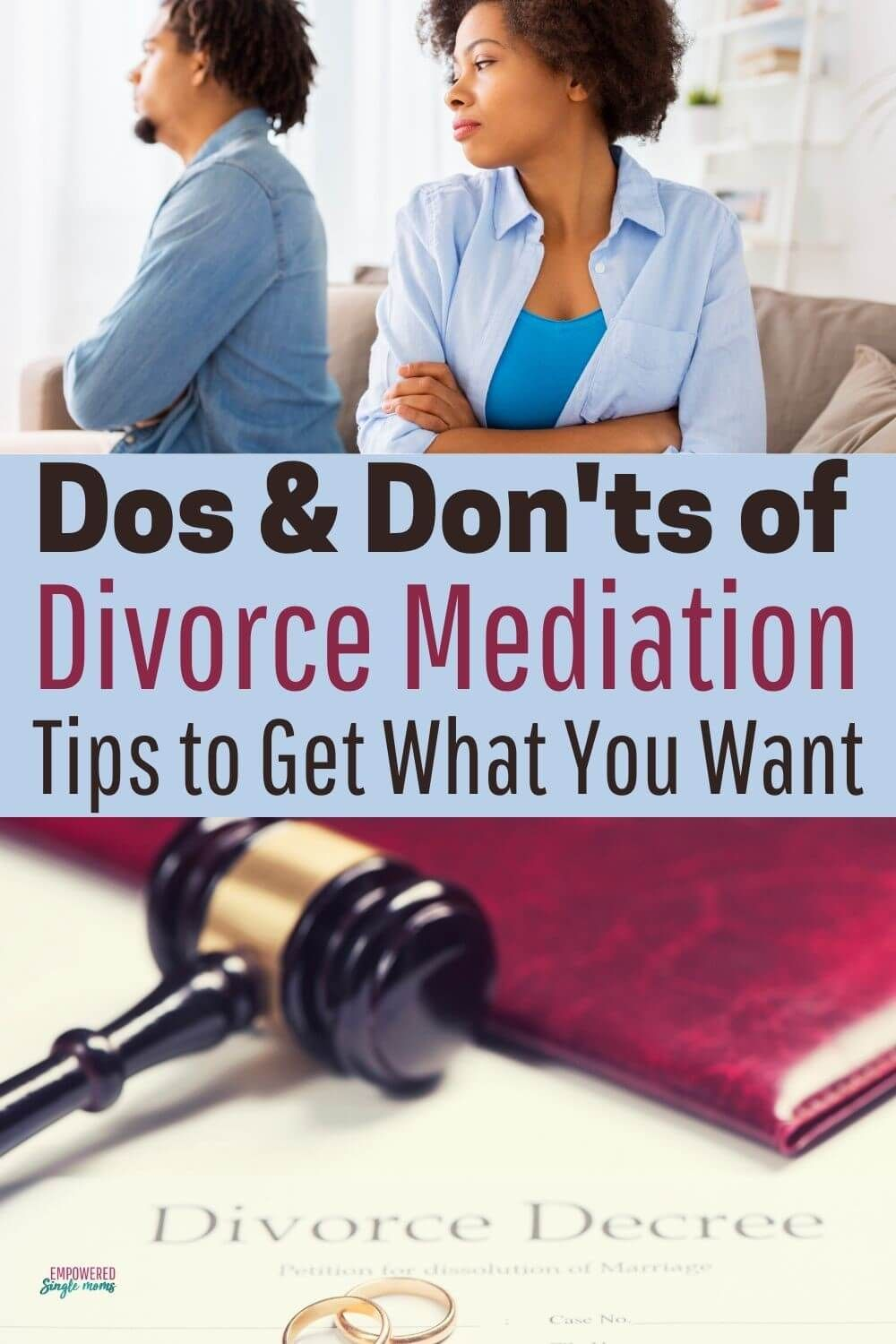 How to Get What You Want in Divorce Mediation in 2020