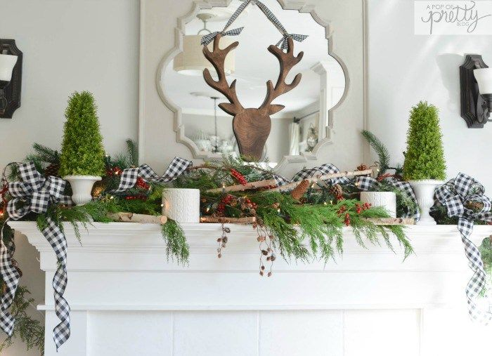 Canadian Bloggers Home Tour Red Plaid Cottage Christmas Cottage