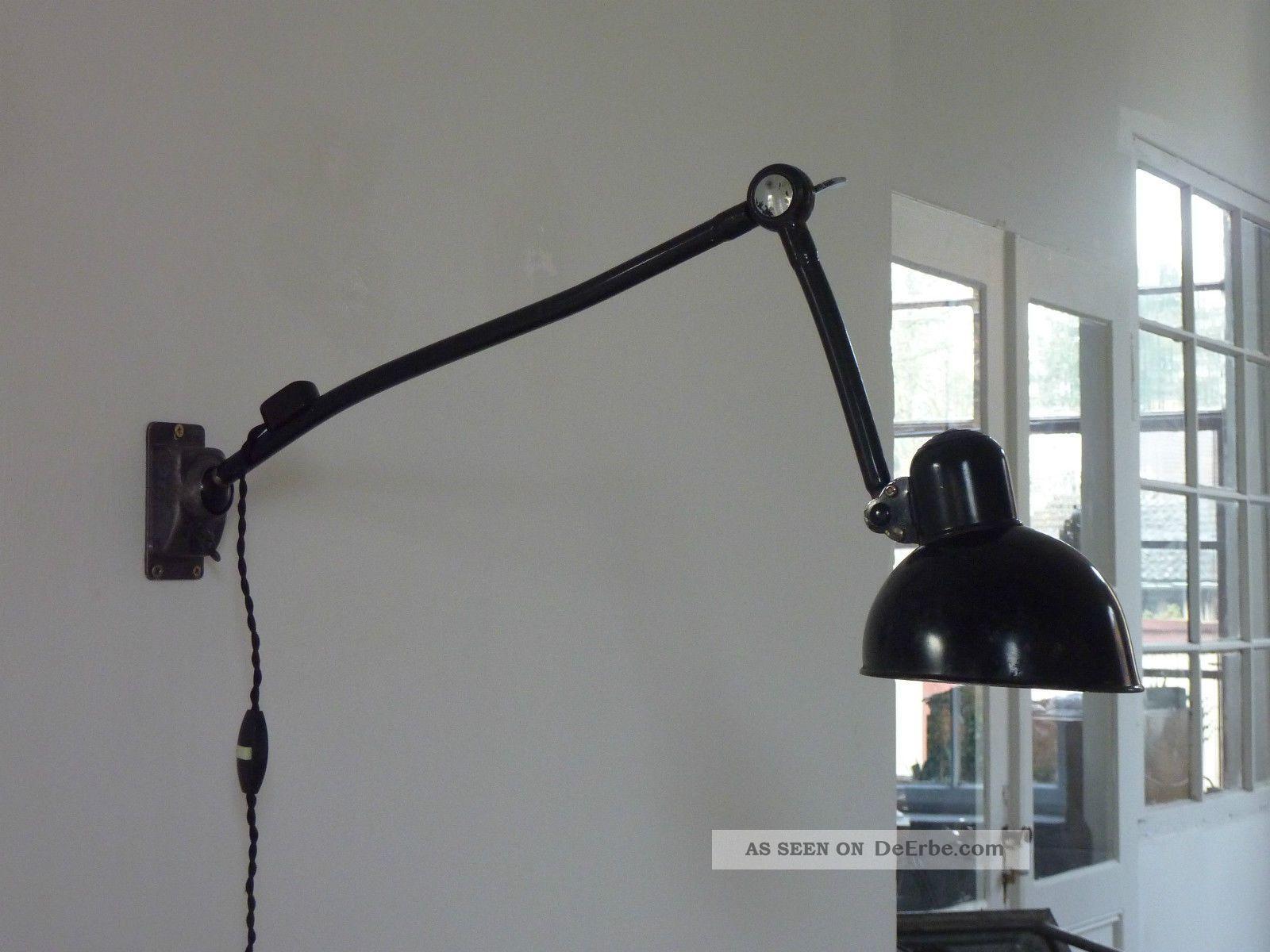 kaiser idell wandlampe vintage industrie design werkstattlampe lampe 1920 1949 art d co bild. Black Bedroom Furniture Sets. Home Design Ideas