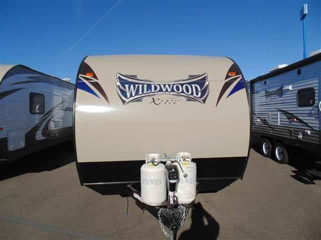2016 New Forest River Wildwood 281QBXL Travel Trailer in California CA.Recreational Vehicle, rv, 2016 Forest River Wildwood281QBXL, 15k BTU Ducted A/C, 30# LP Bottles, 6 Gal. DSI Water Heater, Black tank flush, Cable/Satellite TV Ready, Coach-Net Roadside Assistance, Decorative Curtain Rods, Double door refrigerator, Ducted A/C, DVD, MP3, CD, FM Stereo, EZ Lube Axles, Foot Flush Toilet, Full Extension Drawer Guides, LED Awning Strip, Made in USA Decal, Night shades, Outside Kitchen, Outside…