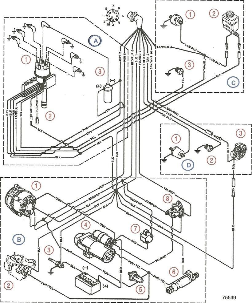 mercruiser 4 3 wiring diagram mercruiser 4 3 engine diagram wire with regard to mercruiser [ 820 x 984 Pixel ]