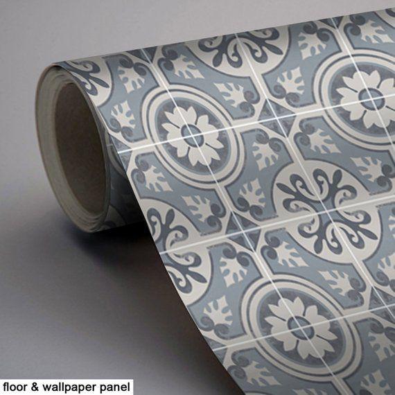 Kitchen and Bathroom Splashback - Removable Vinyl Wallpaper - Messina Carbon - Peel & Stick #bathroomsplashback Kitchen and Bathroom Splashback Removable Vinyl Wallpaper | Etsy #bathroomsplashback
