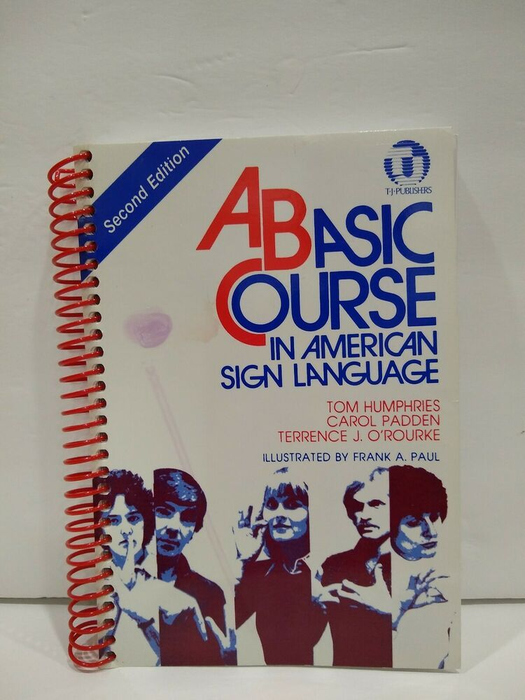 Used Basic Course In American Sign Language Second Edition Edu American Sign Language Sign Language Learn Asl Online