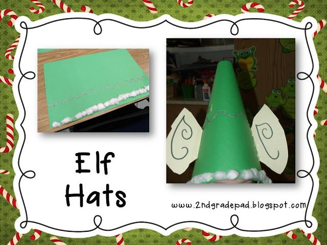 Christmas Craft Ideas For 2nd Graders Part - 22: 2nd Grade Pad: Christmas Craft Day And Freebie #6