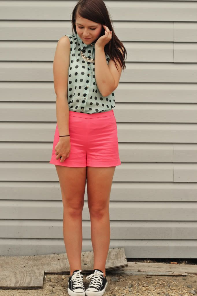 Mint and Pink by girl next door fashion | Outfit ...