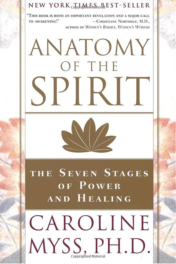 Amazon Anatomy Of The Spirit The Seven Stages Of Power And