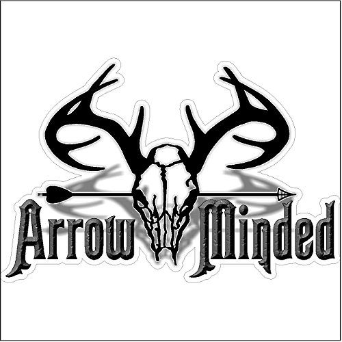 Arrow MindedFunny Hunting Decal Deer Car Truck Removable Bow - Bow hunting decals for trucks