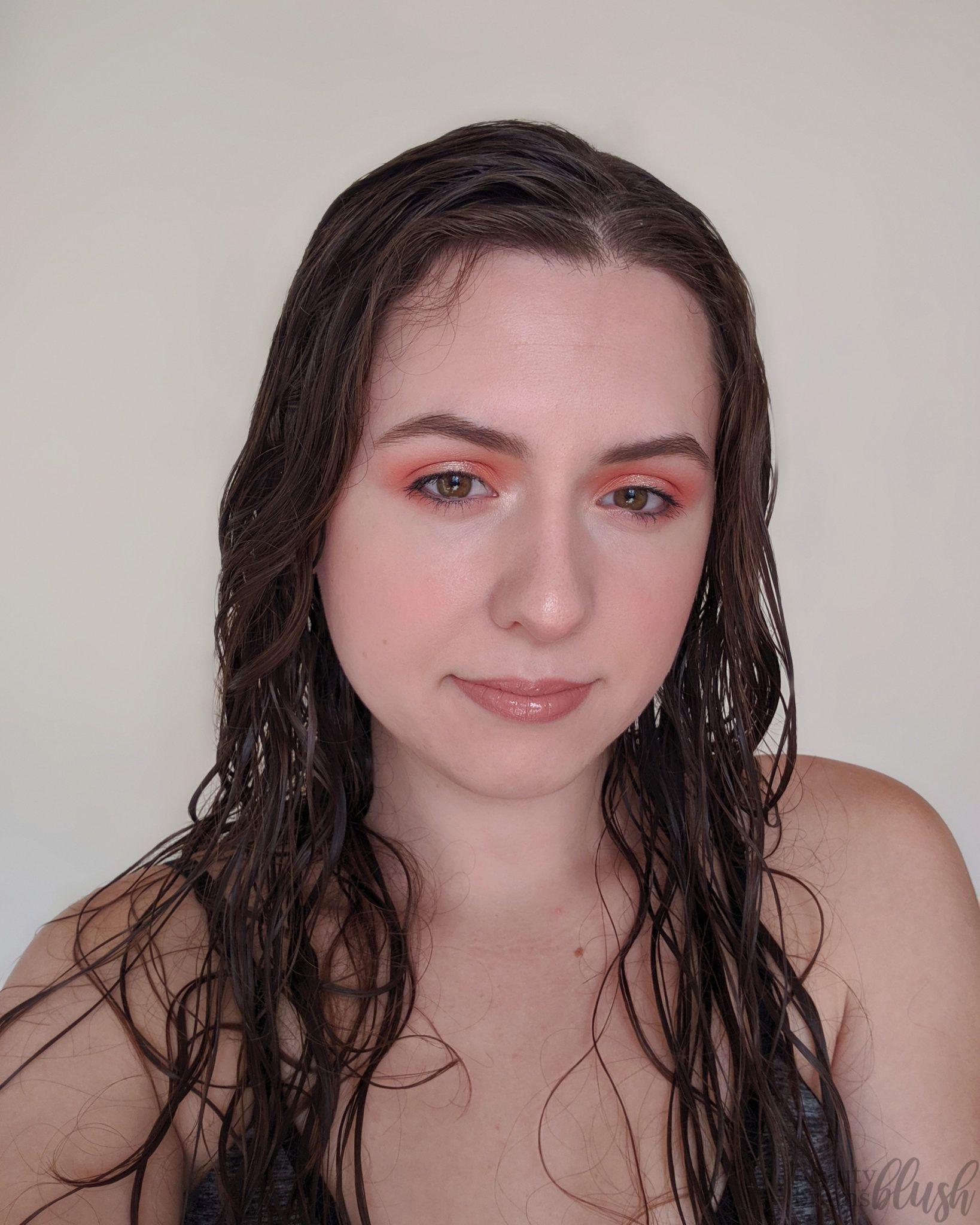 Soft Peach Halo Eyeshadow Peach makeup, Colourpop ultra