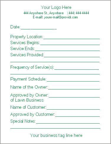 Service Contract Templates Master Service Agreement Template Otherly