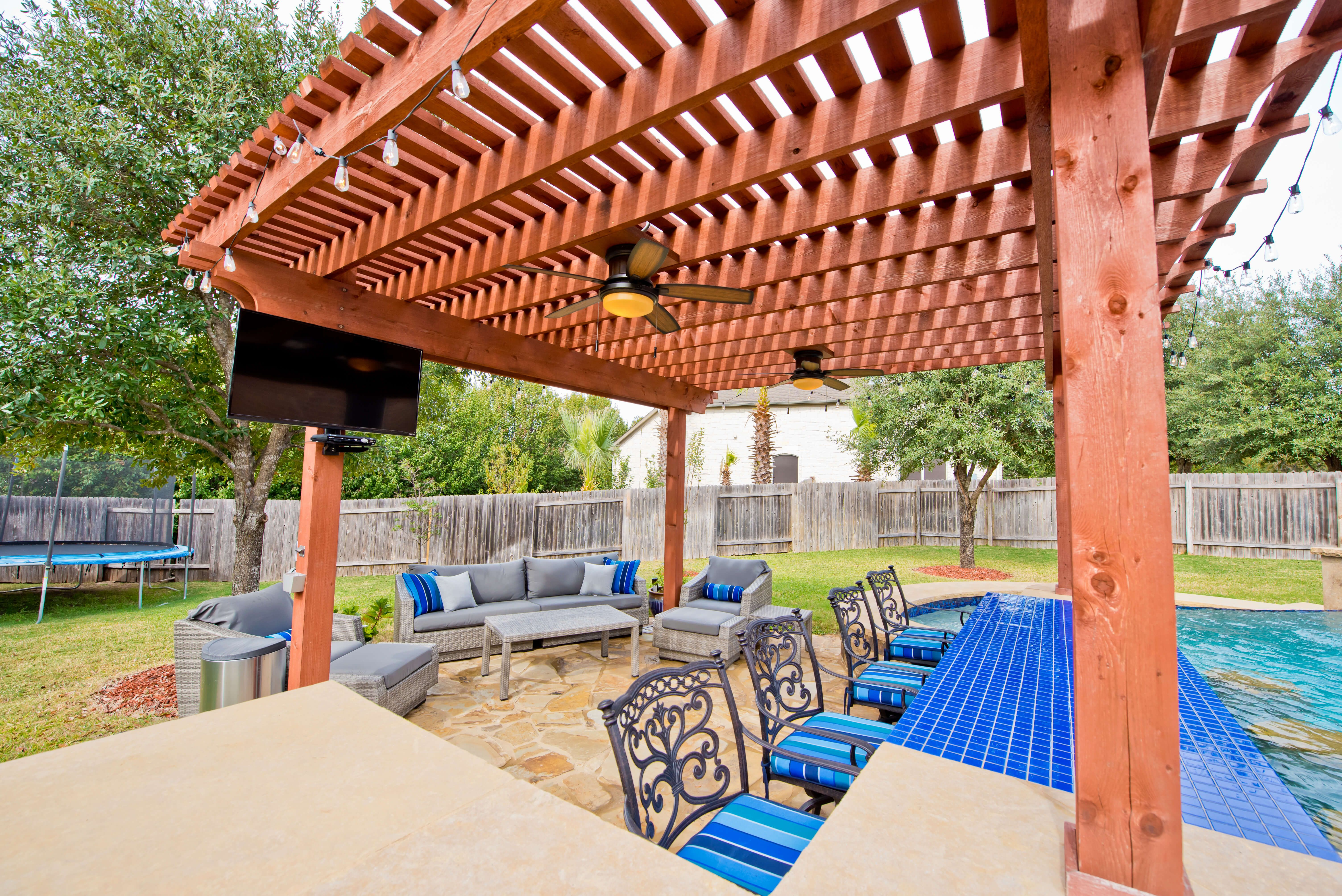 Pin By Texas Pools Patios On Texas Pool And Patio Outdoor Living Outdoor Living Outdoor Living Areas Living Photo