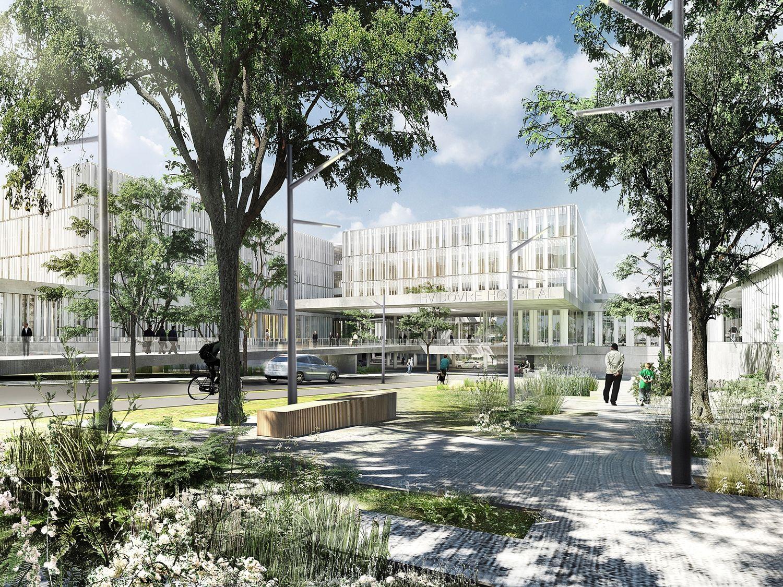 schmidt hamer lassen architects/ hospital hvidovre