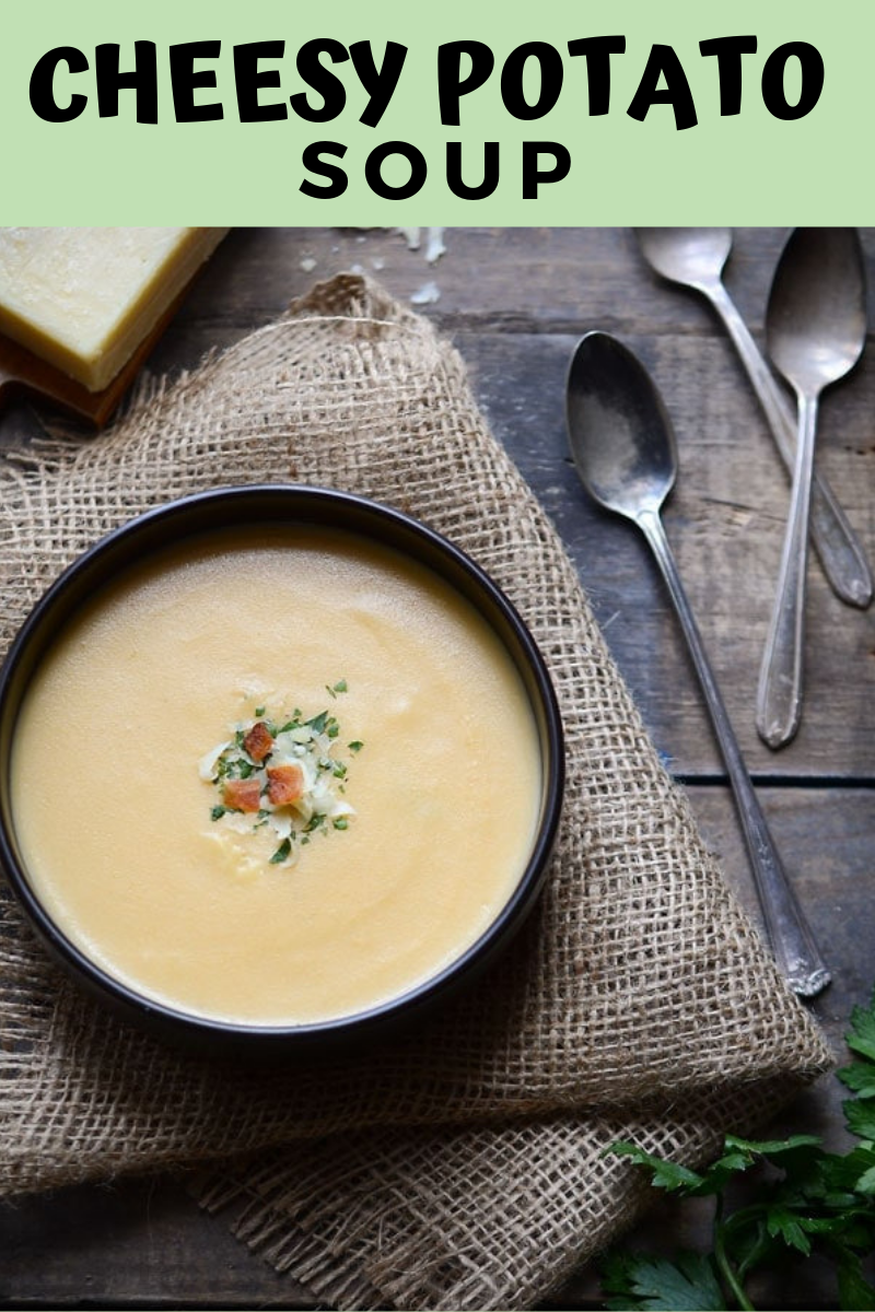 Cheesy Potato Soup images
