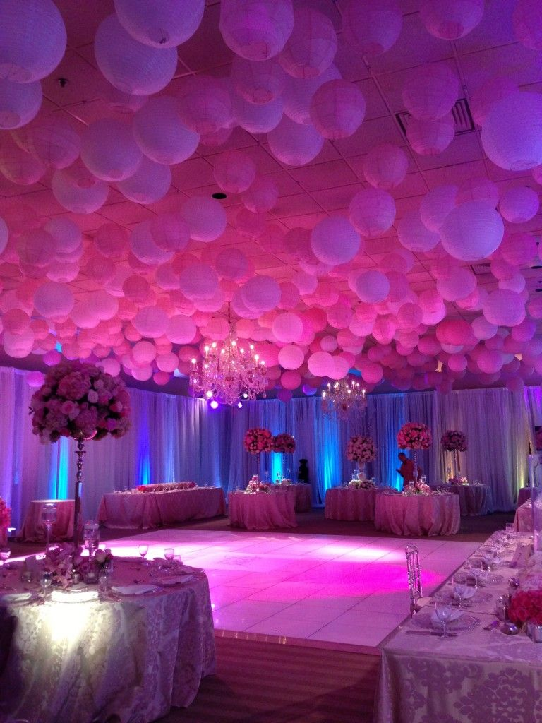 Select Event Group Decor Gallery Quinceanera Party