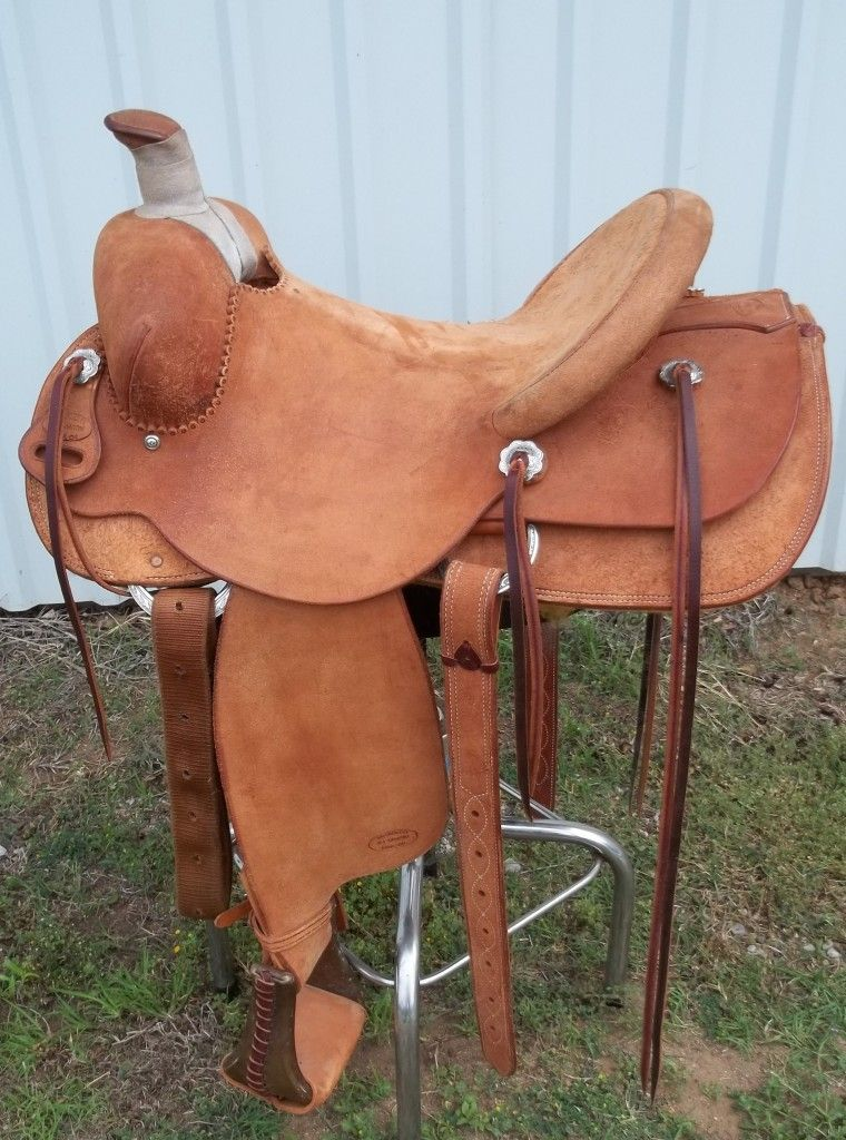 Rough Out Modified Association #CustomBuilt #Saddle #Horse #Country