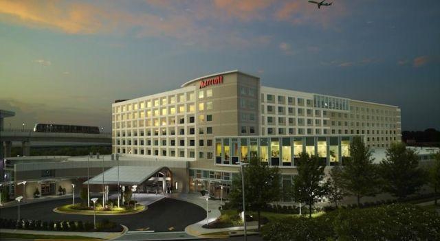 Atlanta Airport Marriott Gateway 3 Star Hotel 89 Hotels Unitedstatesofamerica