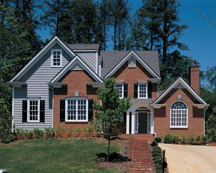 Colonial Style House Plan 3 Beds 2 5 Baths 2175 Sq Ft Plan 429 61 House Plans Colonial Style Homes Architectural Design House Plans