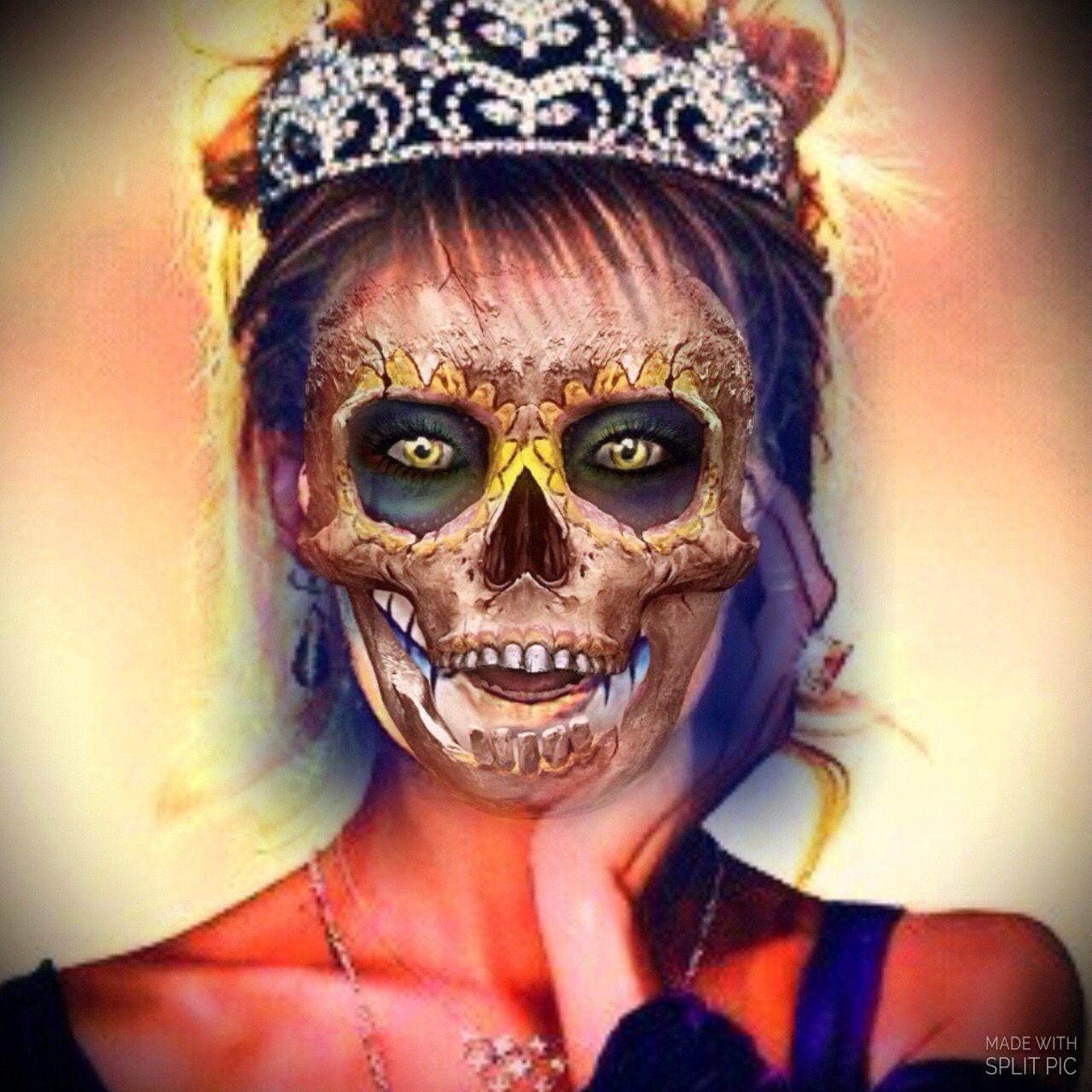 Pin by 👑MadameWicked👑 on αԹԹʍαηία Halloween face makeup