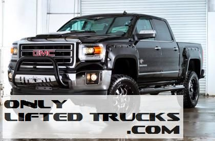 2014 Gmc 1500 Black Widow By Southern Comfort Lifted Trucks Gmc