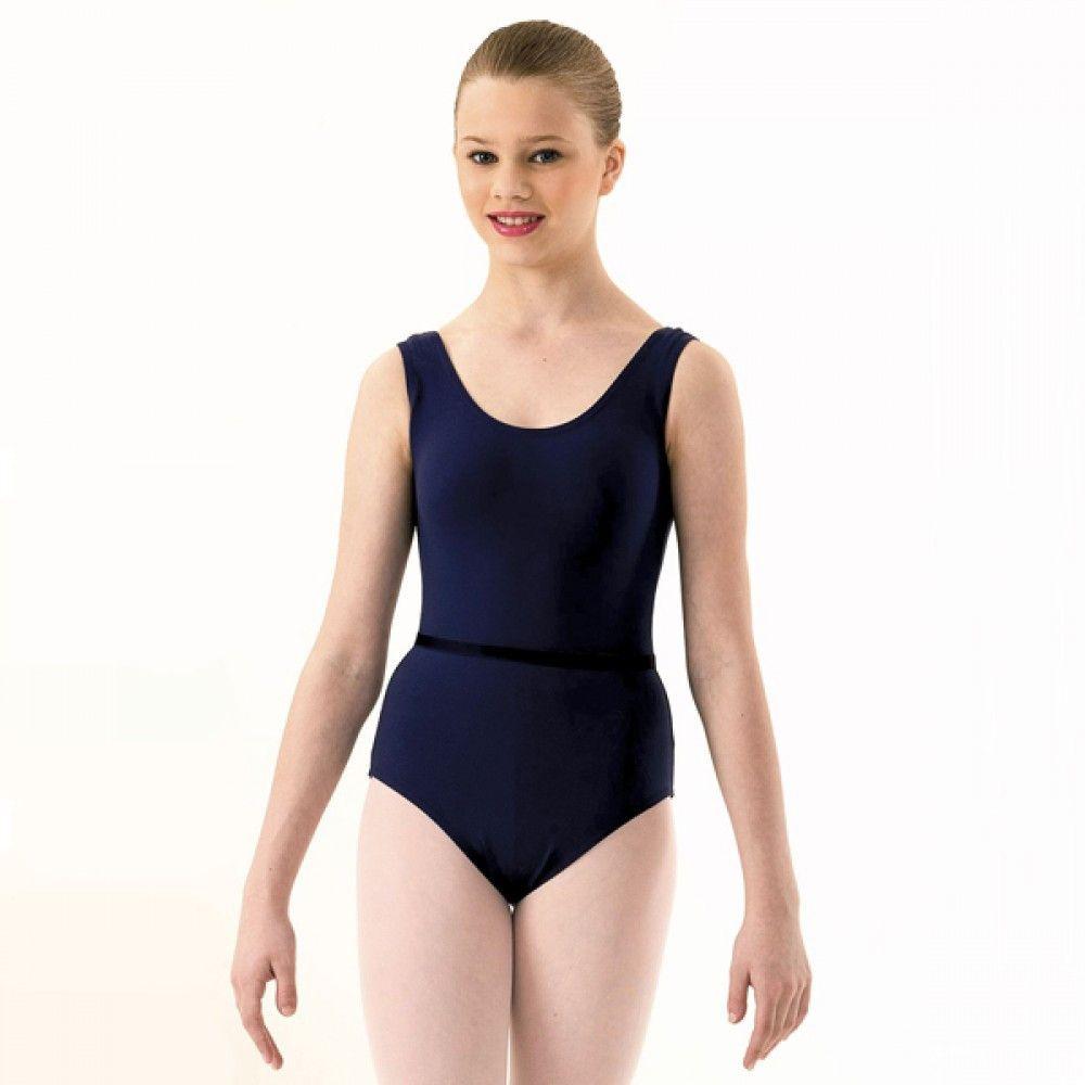 e75b8f850d29 1st Position Sleeveless Grades 1-3 Ballet Leotard