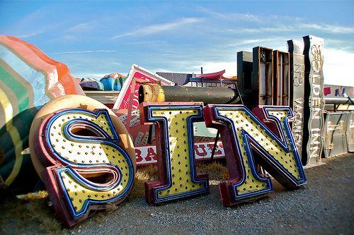 Neon Museum / Boneyard in Las Vegas