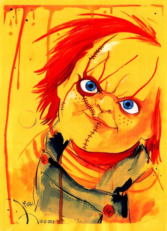 Ilustracion Chucky Child S Play Chucky Dibujos Juegos Para Ninos