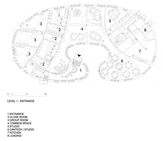 Good New Tellus Nursery School In Stockholm By Tham U0026 Videgard Arkitekter In Plan  View Via @