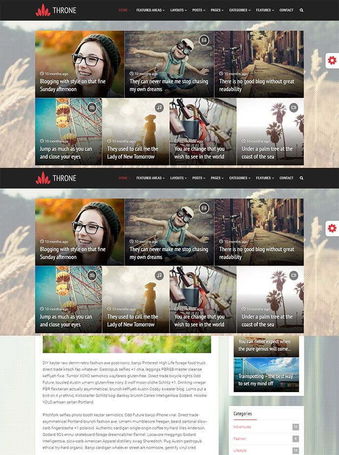 35 Cool Wordpress Themes To Make Magazine & Blog Website | Pinterest ...