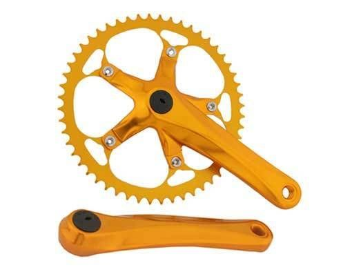 Bicycle Alloy Crank 52T x 175MM for Single Speed Bikes Cycling