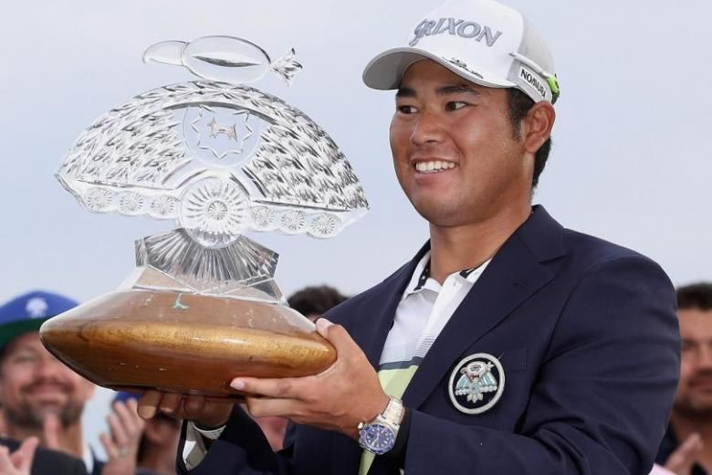 Matsuyama clinched his fifth win in his last nine starts ...