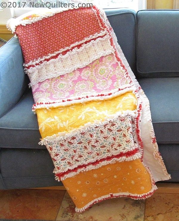 How To Back Your Quilts With Polar Fleece